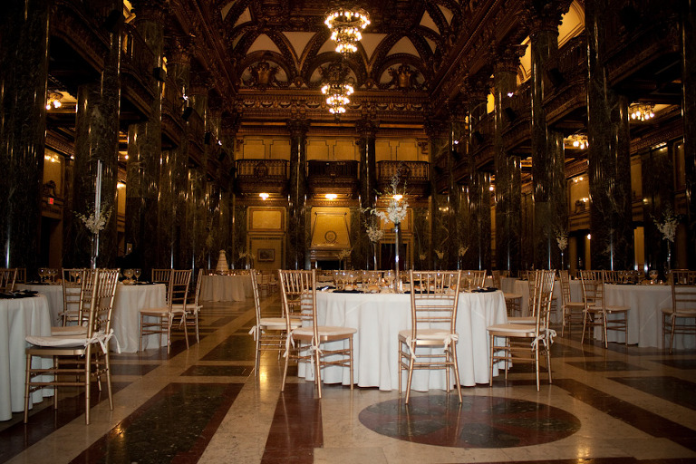 Laura And Greg Carnegie Museum Wedding Reception Pittsburgh