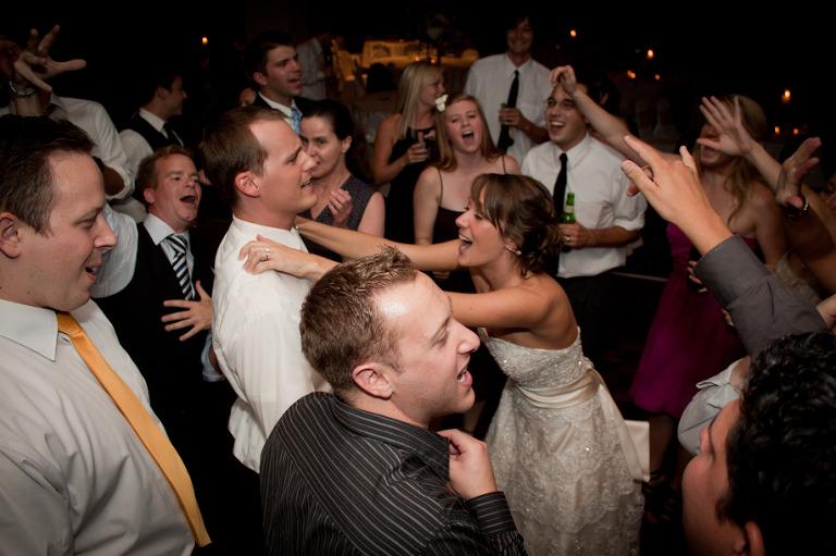 Bride groom pittsburgh Dj