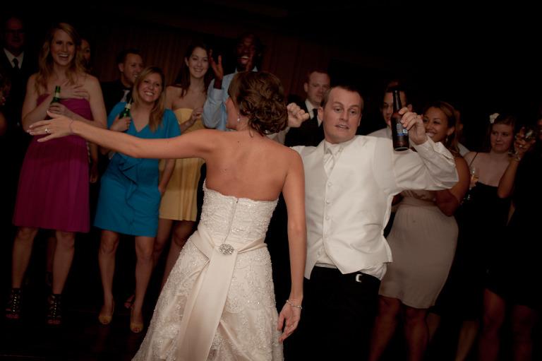 DJ pittsburgh bride groom
