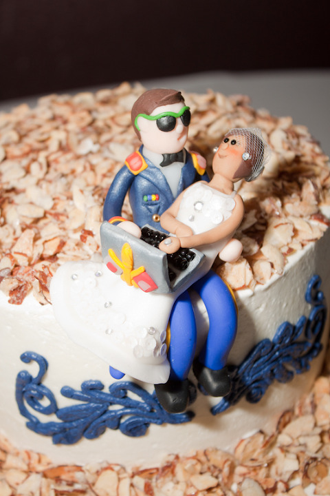 Military cake topper