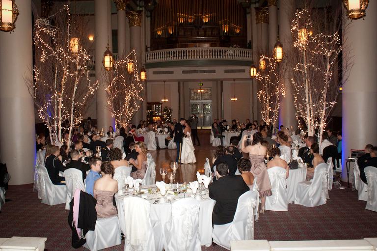 Grand Hall Priory Wedding