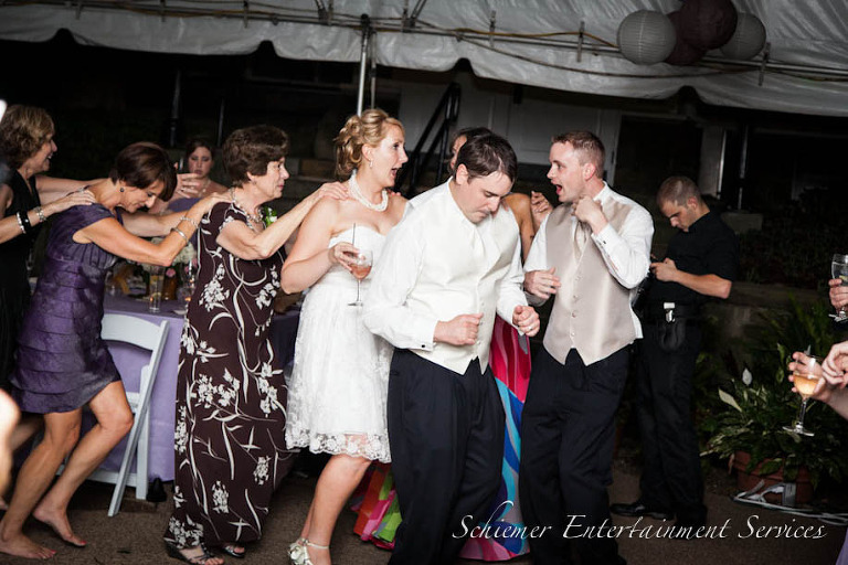 Phipps Conservatory Garden Tent Wedding DJ