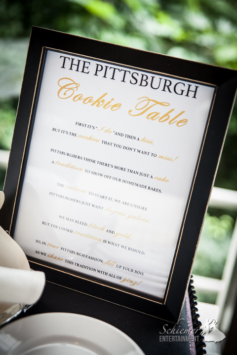 Pittsburgh Cookie Table Sign