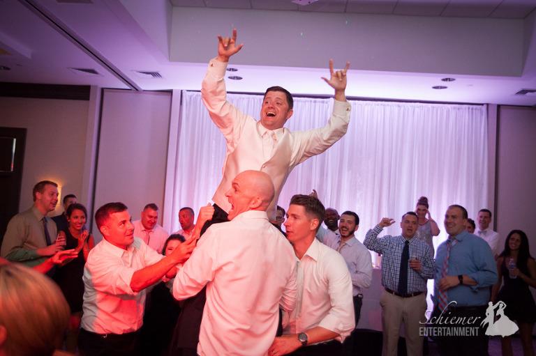 Airport Marriott Wedding DJ-10