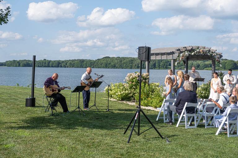 Outdoor Wedding Ceremony Ohio