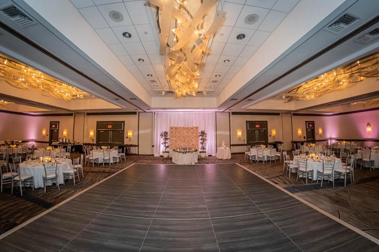 Pittsburgh Airport Marriott Ballroom Wedding