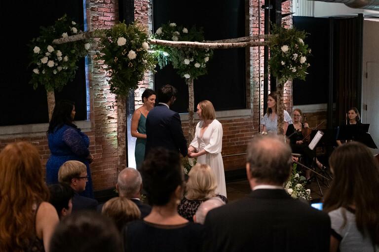 Pittsburgh Opera Wedding Ceremony